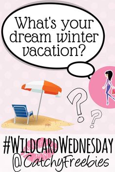 It's #WildcardWednesday and we're so over this freezing weather. What's your dream winter vacation? Tell us for your chance to win a sample!