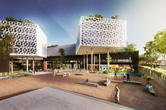 Complexo Multiuso, Brasilia, 2011 - FGMF ARCHITECTS