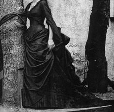 An amazing victorian dress