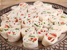 Holiday Roll Ups Recipe : Ree Drummond : Food Network - FoodNetwork.com