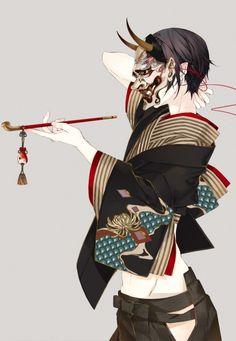 鬼灯の冷徹 hoozuki no reitetsu no reitetsu Art And Illustration, Illustrations And Posters, Fantasy Kunst, Fantasy Art, Samurai Girl, Character Concept, Character Art, Manga Art, Anime Art