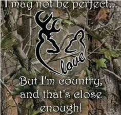 Browning deer with quote