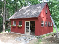 Country Carpenters, Inc. New England Style Post and Beam Carriage Houses, Garden Sheds and Country Barns