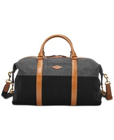 Fossil Campbell Weekender – Bags & Backpacks – Men – Macy's Mens Overnight Bag, Sac Week End, Fossil Watches For Men, Bags Travel, Givenchy, Gucci, Men's Backpack, Fossil Bags, Luggage Bags