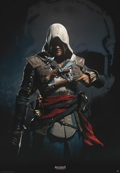 Assassin's Creed Black Flag poster Edward Kenway http://www.abystyle-studio.com/en/assassins-creed-posters/402-poster-affiche-assassin-s-creed-black-flag-edward-kenway.html
