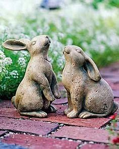 FOCAL POINT STYLING: Spring Bunnies, Rabbits & Hares in the Garden