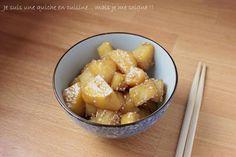 Je suis une quiche en cuisine... mais je me soigne !!: Pommes de terre confites à la coréenne ou gamja jorim