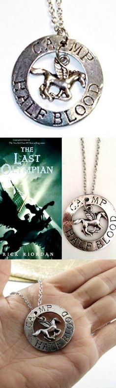 The Last Olympian Camp Half-Blood Percy Jackson Necklace! Click The Image To Buy It Now or Tag Someone You Want To Buy This For.  #PercyJackson