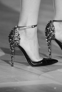 Swarovski high heels