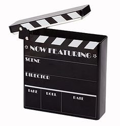 Hollywood Clapboard Tin, Clapboard Tin