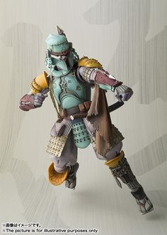 Meisho Movie Realization Ronin Boba Fett Star Wars Action Figure by BANDAI: Official Images, FULL INFO