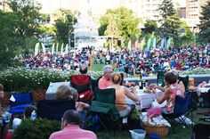 Hot nights and cool jazz - Jazz on the Green, Thursday's in Midtown Crossing