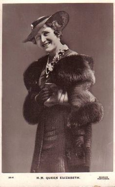 "U.K. Queen Elizabeth of Britain ""Queen Mum"" nee Lady Bowes-Lyon (1900 – 2002) // Flickr"
