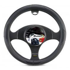 Bottari 16341 Coprivolante per Auto, Grigio, ø cm Wheel Cover, Color, Racing Wheel, Black, Colour, Colors