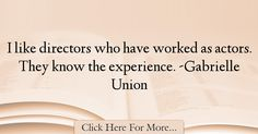 Gabrielle Union Quotes About Experience - 18008