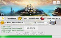 Legion of Heroes Hack | Games Hooks