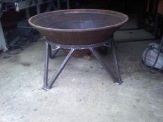 http://www.facebook.com/Appironworks Crusher Cone Fire Pit