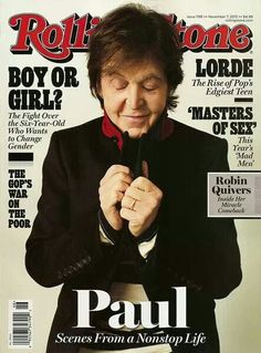 Macca en la tapa de la Rolling Stone #PrimeraPlana
