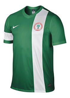 Camisas da Nigéria 2015 Nike
