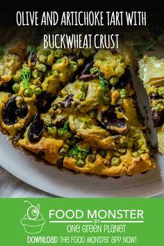 Olive and Artichoke Tart!