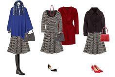 One dress 3 ways - capsule wardrobe
