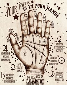 The Practice of Palmistry | stoneandviolet