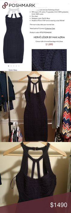 Herve Leger Cutout Dress! Brand New!!! This dress is so pretty. It's brand new w all tags attached. Please refer to pics.The layout(first) pic will have everything you need to know about it. Have questions, I'm here. Herve Leger Dresses