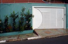 Portão Semi Vazado