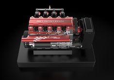 TOYAN FS-L400 14cc Inline 4 Cylinder Four-stroke Water-cooled Nitro En - EngineDIY Nitro Engine, Gasoline Engine, Gear Pump, Water Cooling, Rc Model, Inline, Rc Cars, Airplane, Engineering