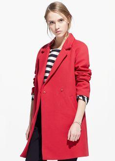 Lapel shift coat