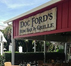 Doc Ford's -- Island Dining with a Caribbean Flare
