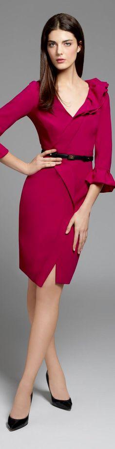 Paule Ka 2015 women fashion outfit clothing style apparel @roressclothes closet ideas