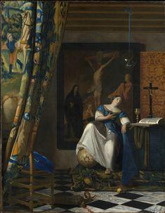 Johannes Vermeer, Allegory of Faith, c. 1670- 1674 Oil on canvas 114.3 x 88.9 cm. (45 x 35 in.) Metropolitan Museum of Art, New York
