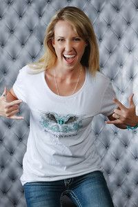 Adoption Rocks! My Sister designed and photographed this T-shirt!