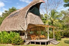 Check out this awesome listing on Airbnb: Osa Beachfront Bamboo House  - Houses for Rent in Puerto Jiménez