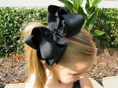 Extra Large STACKED 6 inch boutique bow you choose by LAteda10, $7.00
