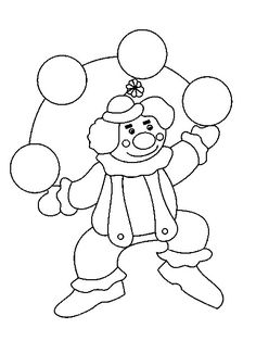 Circus Party, Smurfs, Coloring Pages, Kids, Fictional Characters, Free Coloring Pages, Clowns, Crafts For Kids, Appliques