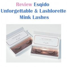 http://www.pintalabios.info/en/reviews/view/en/8 New #review on pintalabios.info Esqido Unforgettable & Lashlorette Esqido Unforgettable & Lashlorette Lashes  The Unforgettable Lashes feature a natural gradient of increasing length and thickness across the lash band which creates a pretty winged out These are seriously pretty lashes and they'd suit any eye makeup look, especially winged liner due to the winged out If you like wearing lashes on a daily basis, I think these would be perfect as…