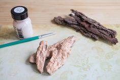 How to Make Fake Tree Bark. The secret to making a truly convincing fake tree is in the bark. It does not matter how shapely or nicely branched your cardboard or concrete construction is, if the bark texture is not right, the finished result will be disappointing. Fortunately, making good-looking bark is one of the easier steps in the fabrication...