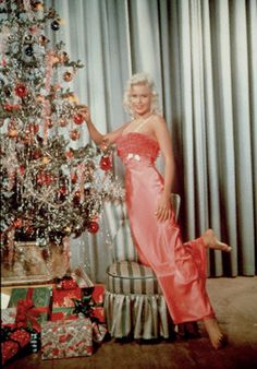 Rita Hayworth Christmas.