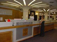 Main Circulation Desk