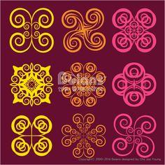 둥근 격자 무늬문양 세트. 기하학 패턴, 오리지널 패턴과 문양 시리즈. (BPTD020191) Round grid Symbol sets. Geometric Pattern Design. Original Pattern and Symbol Series. Copyrightⓒ2000-2014 Boians.com designed by Cho Joo Young.
