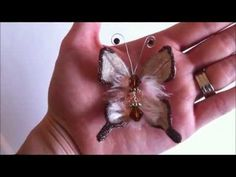 Handmade Skeleton Leaf Butterfly