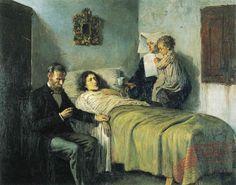 Picasso - Ciencia y Caridad (1895)