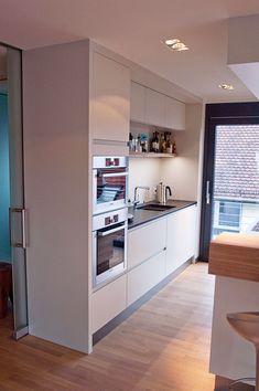 grifflose k che mit glasfront fertiggestellte k chen sch ller c3 k che pinterest. Black Bedroom Furniture Sets. Home Design Ideas