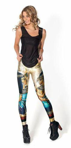 Leggings Egipcios Estupendo modelo de leggings con la imágenes Egipcias.