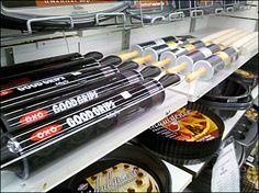 Rolling Pins Product-Stopped Rolls, Rolling Pins, Retail, Buns, Bread Rolls, Sleeve, Retail Merchandising
