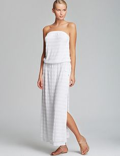 VITAMIN A Olivia Cover Up Maxi Dress