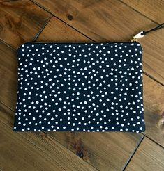 Makeup Bag | Cosmetic Bag | Zipper Pouch | Bridesmaid Gift