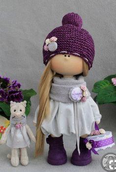 Pretty Dolls, Cute Dolls, Beautiful Dolls, Sewing Dolls, Waldorf Dolls, Fairy Dolls, Soft Dolls, Diy Doll, Stuffed Toys Patterns